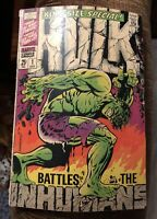 Hulk King-Size Special #1, 1968 Marvel Vs Inhumans Appearance, 4.0 VG, *KEY*
