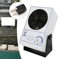 Ionizing Air Blower Ion Fan Discharge Static Eliminator Anti-Static Ionizer 60HZ