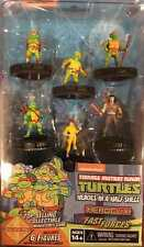 TMNT TURTLES HEROCLIX HEROES IN A HALF SHELL FAST FORCES 6 PACK #sdec16-44