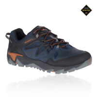Merrell Mens All Out Blaze 2 GORE-TEX Walking Shoes Blue Sports Outdoors