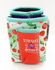 Ninc Stressed Design Cigarette Pack Pouch/Lighter Holder 12 Oz Can Cooler