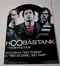 Hoobastank Promo Display / Sticker glass window door