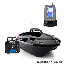 BearCreeks iCatcher Carp Fishing Bait Boat Futterboot Bateau amorceur Combo Set