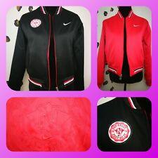 Rare Nike Black Pink Reversible Pep Rally Varsity Basketball Jacket Size M