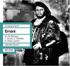 Verdi / Del Monaco / Rome Opera Orchestra & Chorus - Ernani [New CD]
