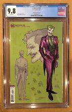 BATMAN # 95 CGC 9.8! JIMENEZ VARIANT. JOKER WAR PART ONE.