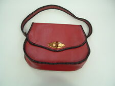 Vintage  small  red leather purse