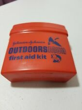 Johnson & Johnson Vintage Outdoorsman First Aid Kit