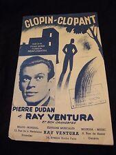 Partition Clopin Clopant Pierre Dudan et Ray Ventura Music Sheet