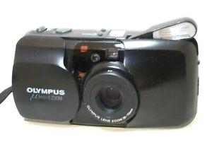Olympus MJU zoom compact film camera.