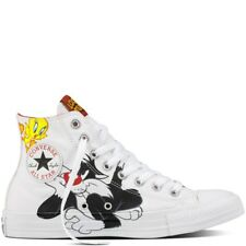 NEW Converse Chuck Taylor All Star Hi Looney Tunes Sylvester Tweety Womens
