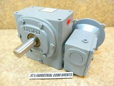 Boston Gear   200:1 ratio   speed reducer  1875 inch pounds  FWA726-200-B5-G