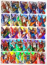 2008-09 SPx RAINBOW FOIL TECH REFRACTOR-LIKE ACETATE DIE-CUT 27-CARD LOT $36+ BV