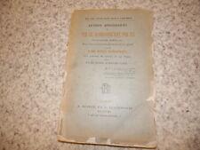 1890.Lettres apostoliques de Pie IX, Grégoire XVI et Pie VII..