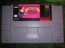 Snow White in Happily Ever After SNES (Tested) - CARTRIDGE ONLY