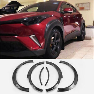 For Toyota C-HR CHR 2018-2021 Wheel Arch Fender Flares Cover Protector Molding