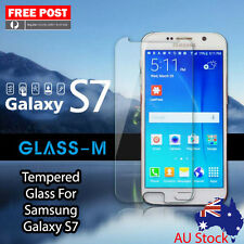 "1 x Tempered Glass For Samsung Galaxy S7 5.1"" Screen Protector Smart phone"