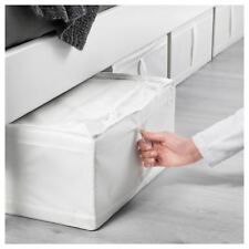 IKEA SKUBB Under Bed Wardrobe Clothe Storage Box Case Organiser 44x55x19cm WHITE