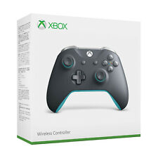 Xbox One Wireless Controller - Grey and Blue [Brand New]
