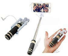 Mini Foldable Selfie Stick for Samsung S6 S7 Edge iPhone 6/6S/Plus HTC 8/9 Wired