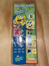 Nickelodeon Spongebob Squarepants Universal Remote (2003, Sbr3B) Brand New!