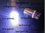 2 AMPOULES A BASE H6W A LED CONCAVE BLANC XENON