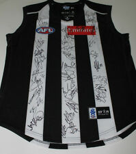 COLLINGWOOD 2013 TEAM HAND SIGNED JERSEY UNFRAMED + PHOTO PROOF & C.O.A