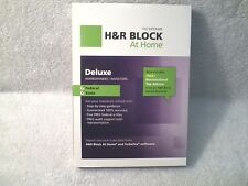 H&R BLOCK TAXCUT DELUXE 2012 WINDOWS & MAC FEDERAL & STATE TAX SOFTWARE SEALED