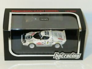 1/43 hpi-racing  Lancia Stratos HF  Winner Sanremo Rally 1979  Tony (box damage)