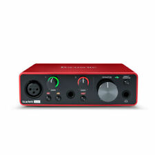 Focusrite Scarlett Solo 3rd Gen 2-in, 2-out USB Audio Interface *In Stock* New
