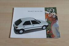 102823) Peugeot 306 XN XND Prospekt 12/1993