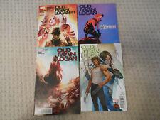 Old Man Logan #1-4 (2015, Marvel) Secret Wars, Gwenverine, Manga, Variants