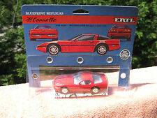 ERTL Blueprint Replicas Die Cast Metal 1988 Corvette 1:43 Scale~New & Sealed
