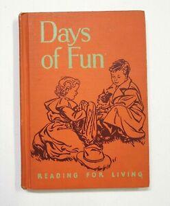 Days of Fun, Vintage School Reader, 1954