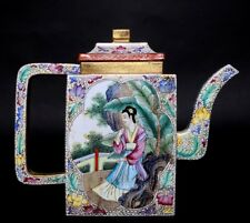 Gorgeous China Exquisite Rare Yingxing Sand Zisha Teapot Mark QianLong MPT345