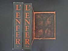 Dante Alighieri L'Enfer,Vol I&II(Dante's Inferno)'50, Goerg etchingsINV11