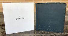 CORUM Card Document Holder Wallet Admiral's Cup Power Reserve Bridge Tourbillon