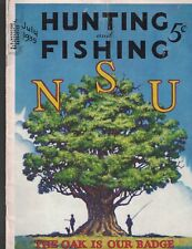 Hunting & Fishing Magazine July 1935 The Oak is Our Badge