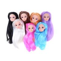 Occhi 3D testa e collo attaccati ai giocattoli della bambola Barbie kid regalo-C