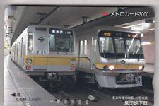 ASIE TELECARTE / PHONECARD .. JAPON 3.000Y TAMURA IO  TRAIN METRO RAILWAYS