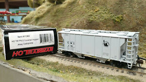 ATLAS HO #11362 CNJ/Jersey Central PS-2 Covered Hopper #790,Assembld,New w/Box