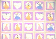 1 Panel of Disney Princesses Cotton Fabric