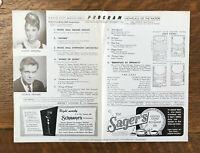 BREAKFAST AT TIFFANY'S 1961 WORLD PREMIERE Radio City Music Hall AUDREY HEPBURN