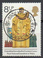 Großbritannien England gestempelt Eisteddfod of Wales Horn Vollstempel / 834