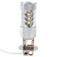 H3 80W Cree high power LED Car Light For Driving Fog Head Lamp Bulb Pure White