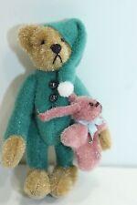 Little Gem Teddy Bear Sleepy Time Pajama Bear + Rabbit Bunny Stuffed Animal