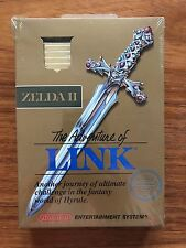 Zelda II The Adventure of Link (Nintendo NES, 1987) Sealed H-Seam Silver Seal