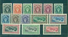 Zanzibar - Sc#230-43. 1952 Definitives. Mint. LH. $56.95.