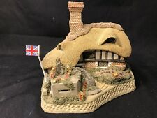 David Winter Collectors Guild Home Guard w/Flag COA, OrgBox E-M Condition