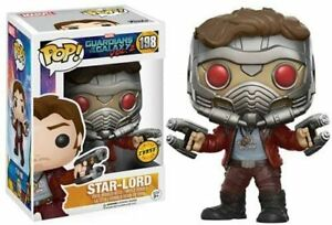 GUARDIANS OF THE GALAXY - STAR-LORD - FUNKO POP - BRAND NEW - 12784 *CHASE*